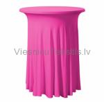 Elastīgais galdauts, rozā