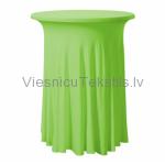 Elastīgais galdauts, koši zaļš