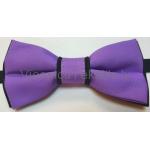 Tauriņš, violets / melns