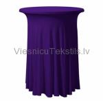 Elastīgais galdauts, violets