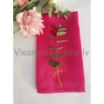 Galda salvete, fuksijas rozā