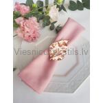 Auduma salvete, rozā