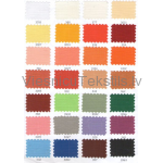 Auduma Everest krāsu palete