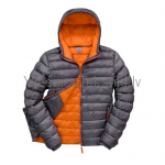 Snow Bird jaka - vīriešu / Pelēka + oranža odere