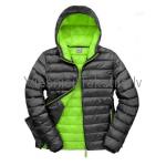 Snow Bird jaka - vīriešu / Melna + zaļa odere